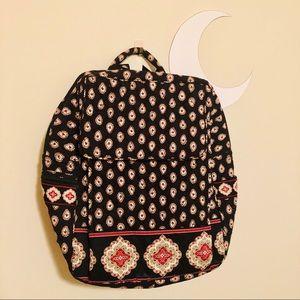 Vera Bradley Backpack Black/White/Red